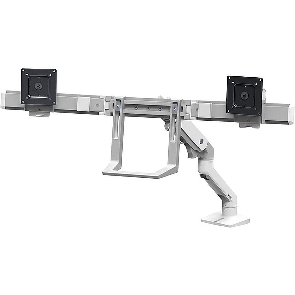 ERGOTRON Monitorarm HX Dual für 2. Monitor weiß bis 32 Zoll Monitor