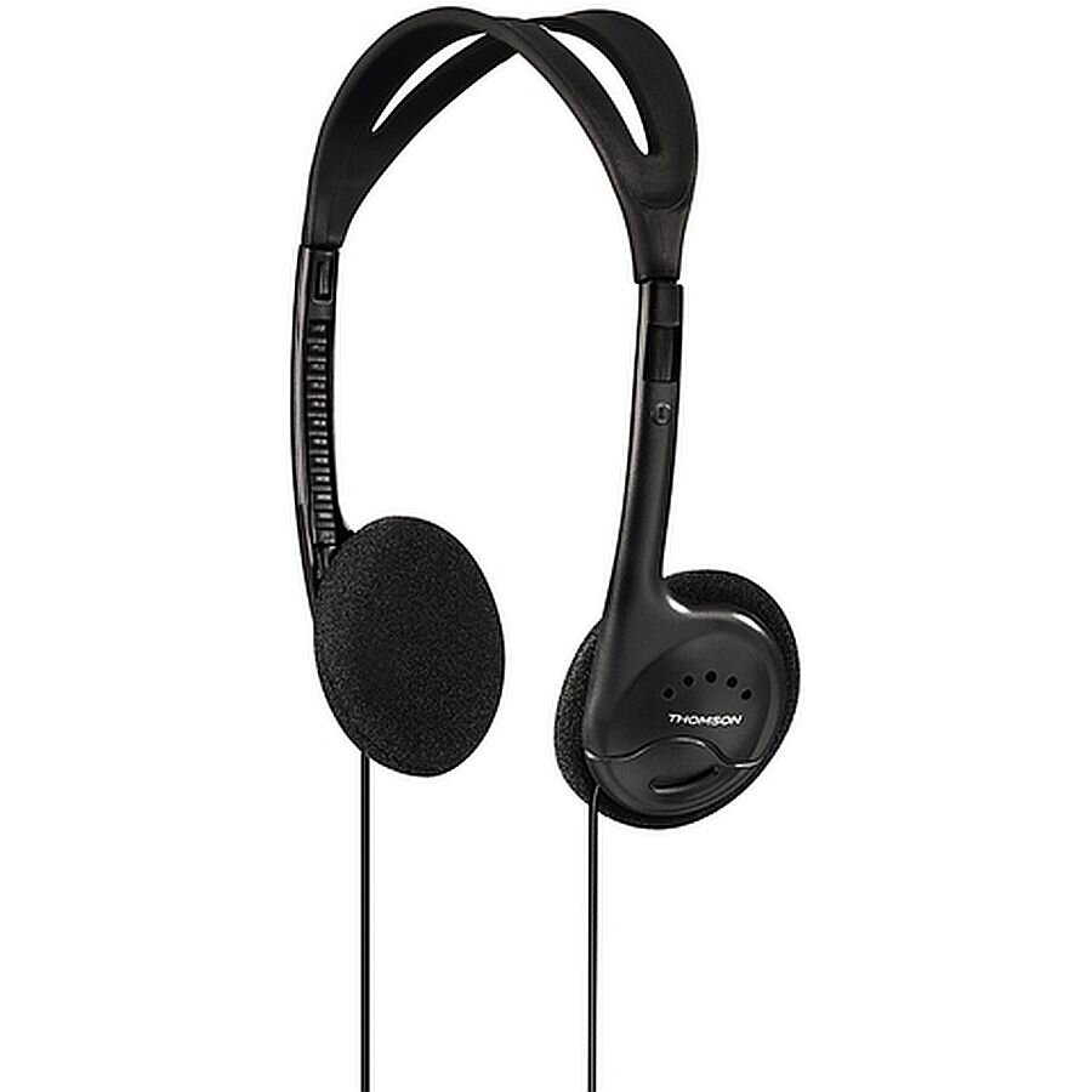 On-Ear Kopfhörer HED115BK schwarz Thomson