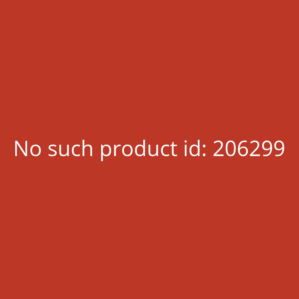 Helit Papierkorb 13L Economy blau 300 mm hoch transluzent