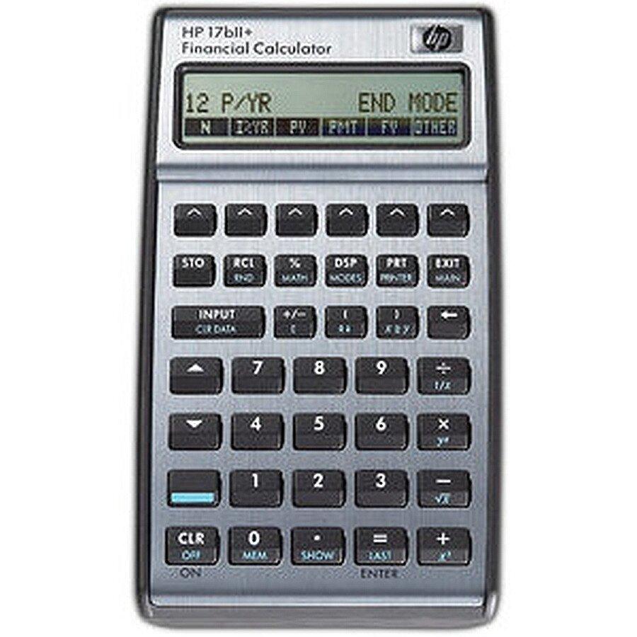 hp Taschenrechner finanz-mathem. 17BII