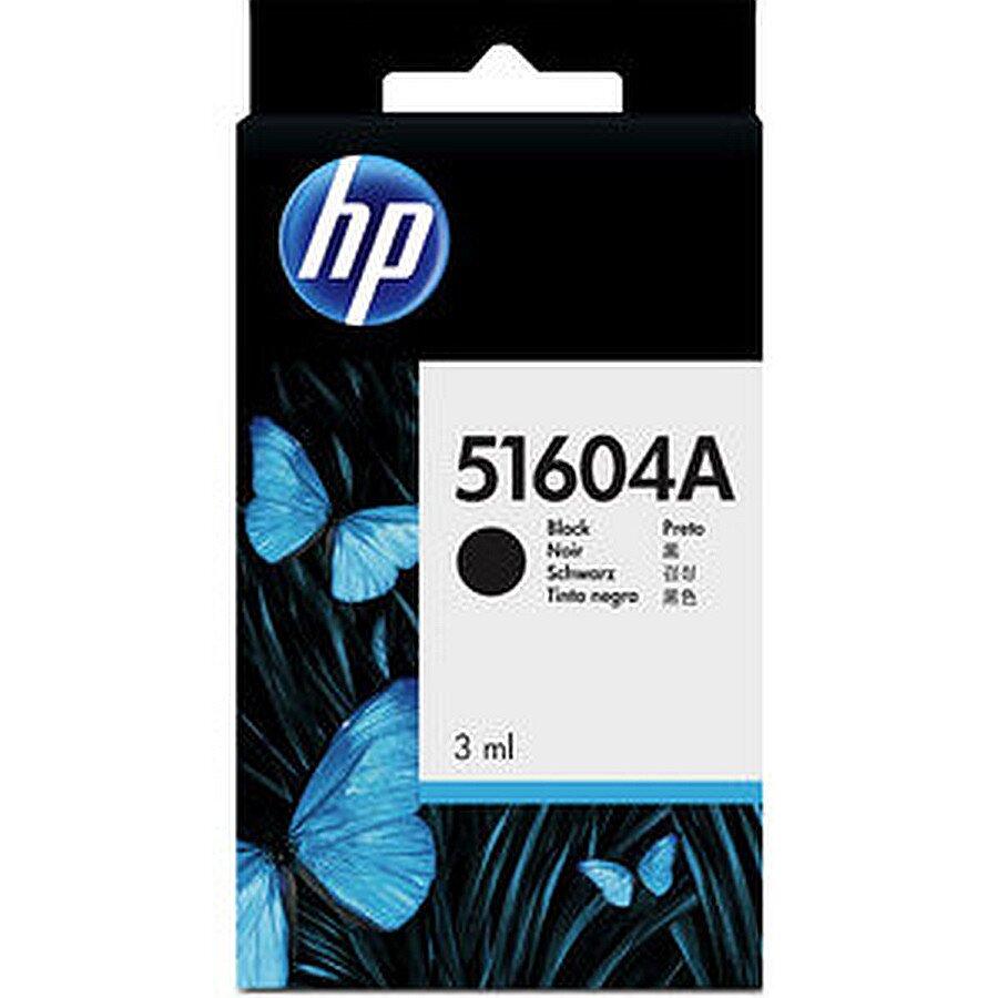 Tinte für HP QuietJet Canon CJ3A schwarz ca. 400 S