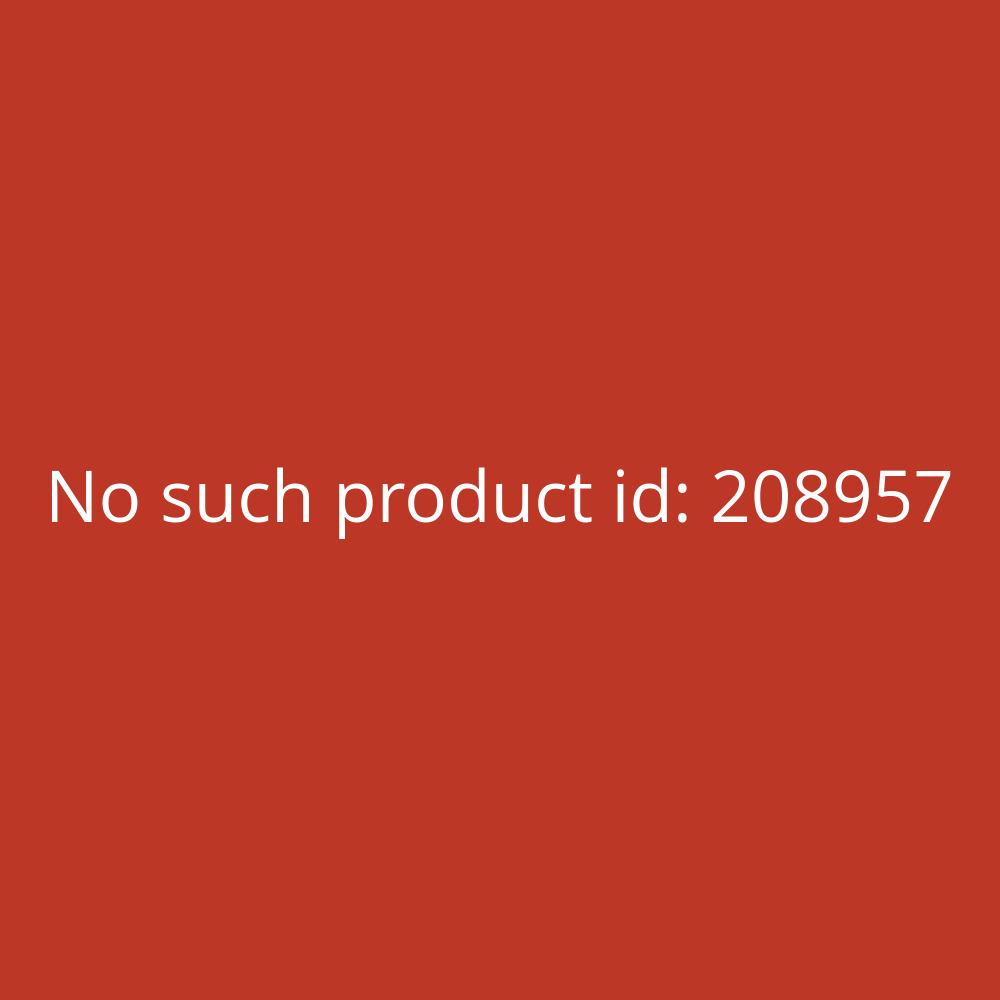 Durable Papierkorb Metall rund 15L mit silber 315x260 mm 30 mm Perforation