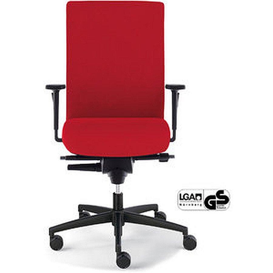 Dauphin Bürostuhl Sim-O rot weiche Rolle