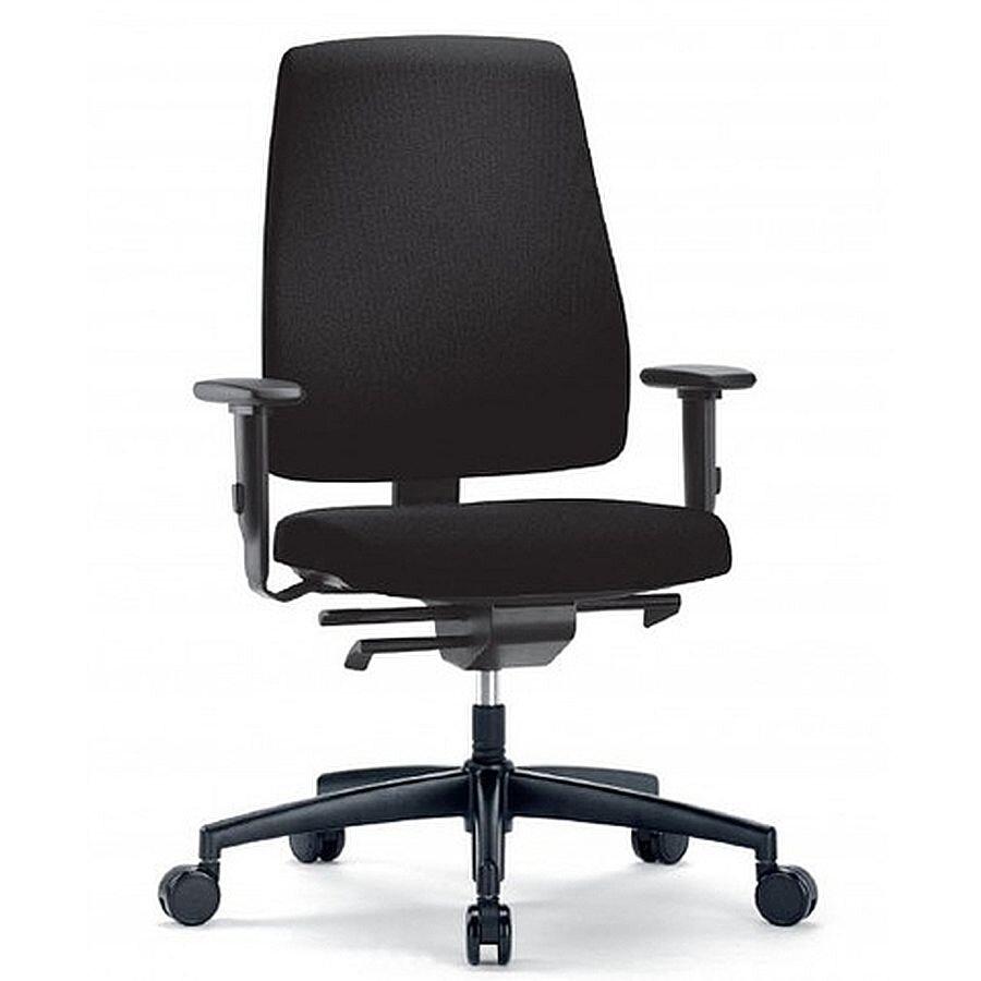 Interstuhl Bürostuhl Goal schwarz harte Rollen