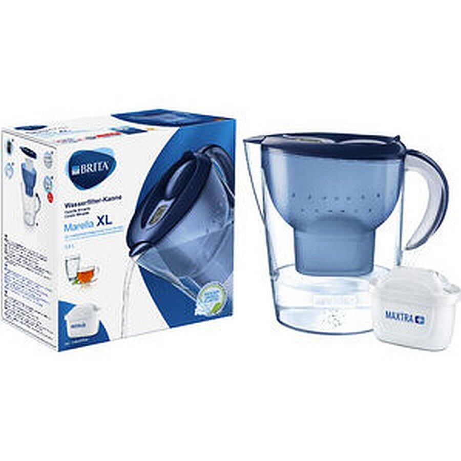 BRITA Wasserfilter Marella XL blau 26,5x15,5x28