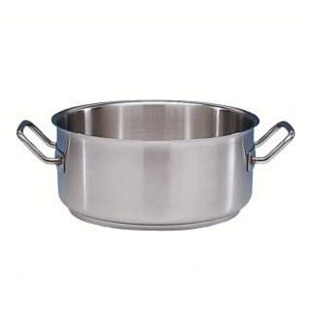 cookmax Bratentopf 6 Liter ohne Deckel Edelstahl D:24,H13,5cm ECO