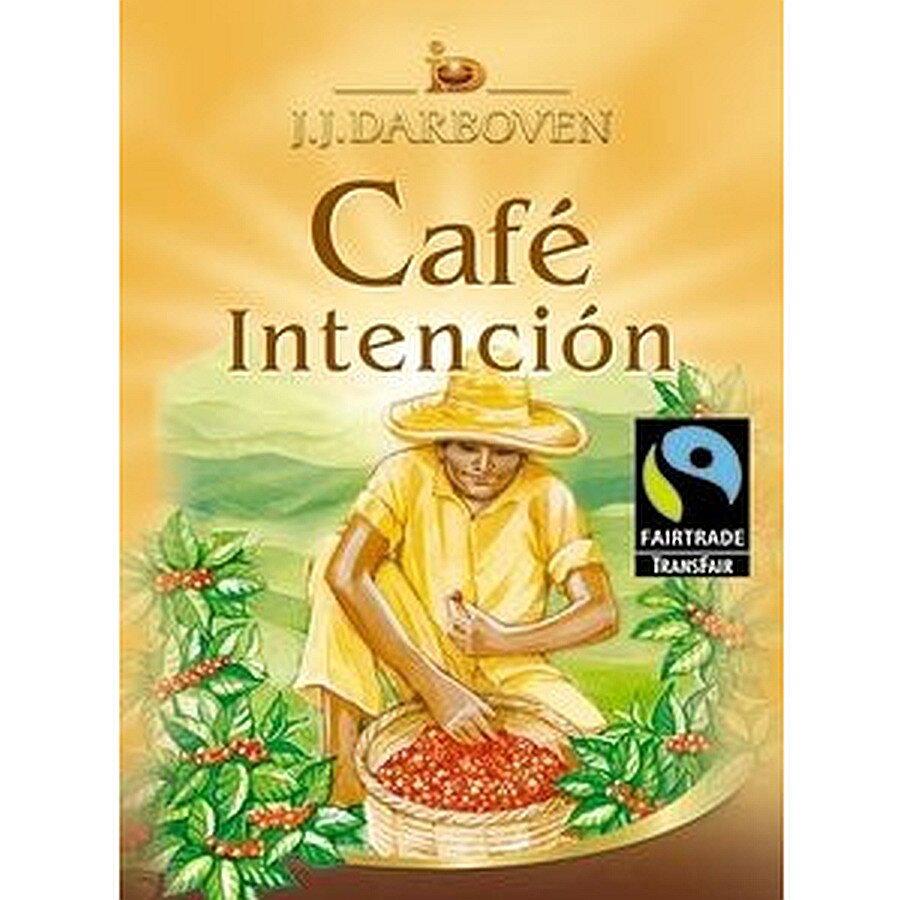 Darboven Kaffee FairTrade ganze Bohne Hochland Cafe Intenc. 1000g