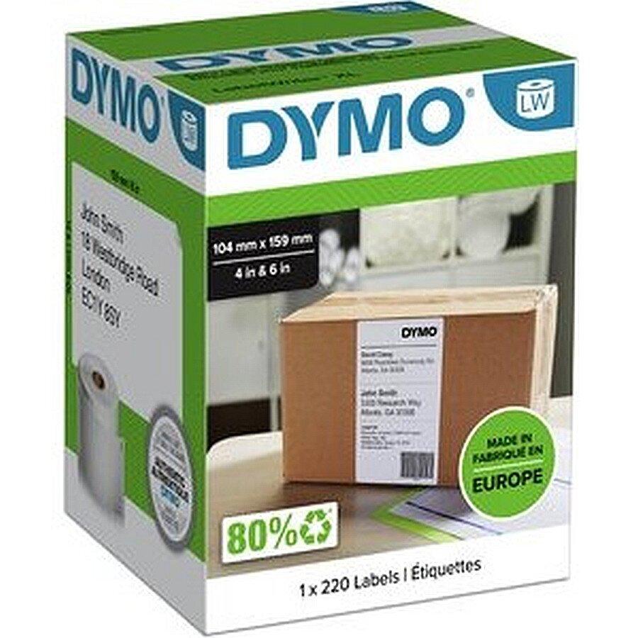 Dymo LabelWriter 4XL-Versandetiket. weiß 104x159mm 220 Stück