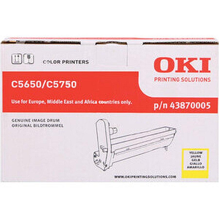 Oki Trommel für Laserdrucker C5650/C5750 gelb ca. 20.000 S