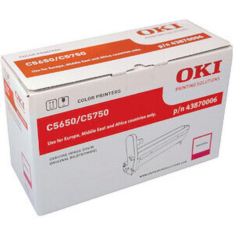Oki Trommel für Laserdrucker C5650/C5750 magenta ca. 20.000 S