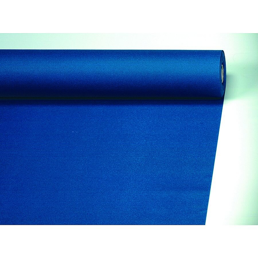 Papstar Tischdecke Airlaid stoffähnlich dunkel blau 20m x 1,2m