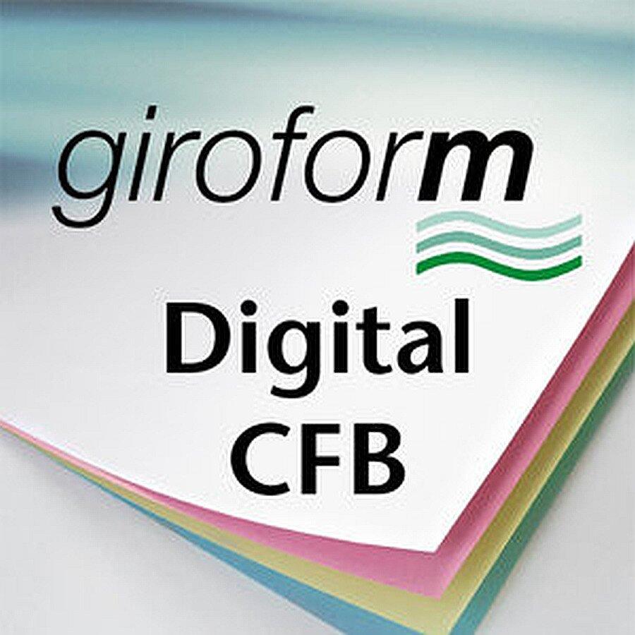 SD-Papier giroform Digital CFB weiß A4 80g 5x500 Blatt