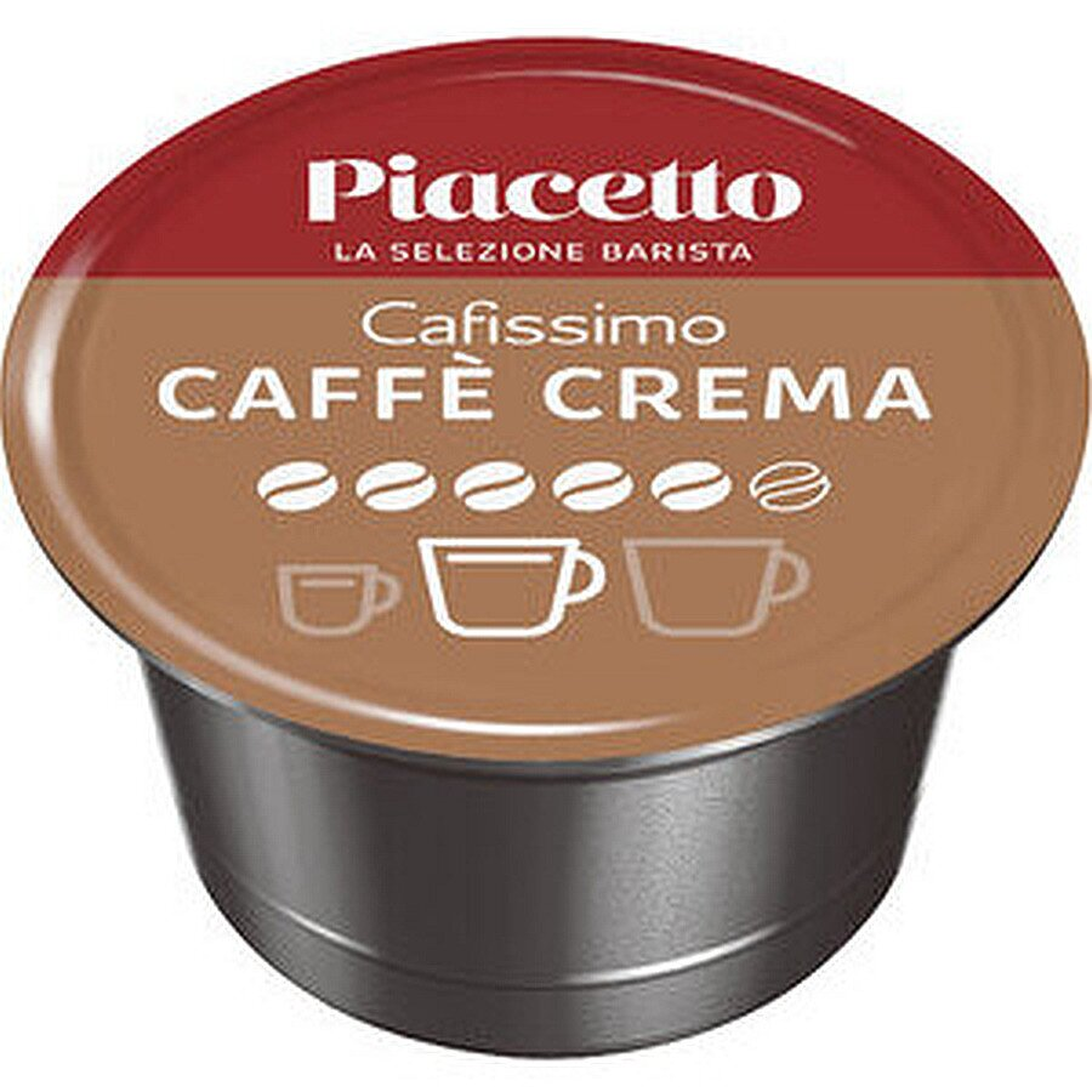 Piacetto Caffee Crema Kapseln 96x8,5g für Cafissimo