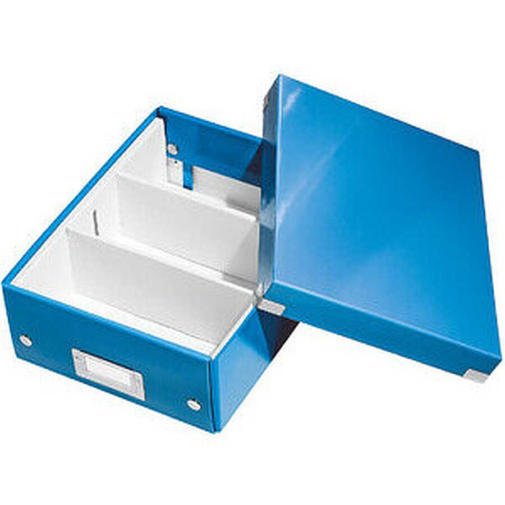 Leitz Organisationsbox C&S WOW klein blau M für DIN A5 PP-laminiert